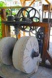 橄榄色的机器 免版税库存图片