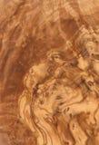 橄榄色纹理木头 免版税图库摄影