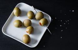 橄榄装饰 免版税库存照片