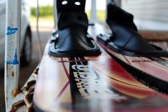 滑水橇 免版税库存照片