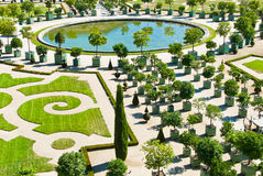 橘园在凡尔赛 免版税库存照片