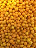 橘子堆 免版税库存照片