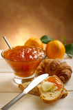橘子果酱桔子 库存图片