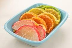橘子果酱糖果 库存图片