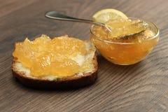 橘子果酱 库存照片