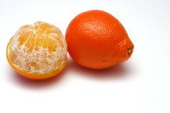 橘栾果 库存照片