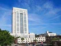 橘郡法院大楼在奥兰多佛罗里达 免版税库存照片