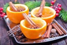 橙味饮料 免版税库存照片