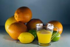 橙汁,汁液,橙色 免版税库存照片
