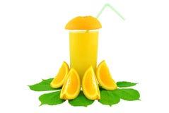 橙汁 图库摄影