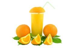 橙汁 库存图片