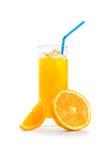 橙汁 免版税图库摄影