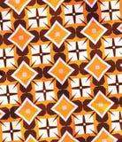 橙色几何 向量例证