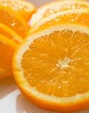 橙色切片,储蓄图象 库存照片