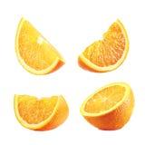 橙色切片 库存图片