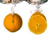 橙色刷新 免版税图库摄影