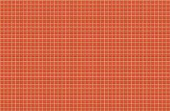 橙色发光的瓦片墙壁 无缝的纹理和样式backgr的 免版税库存图片