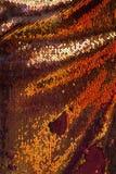 橙色发光的纹理 库存照片