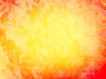 橙色和黄色难看的东西梯度背景 免版税图库摄影