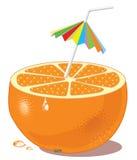 橙色商品 免版税库存照片