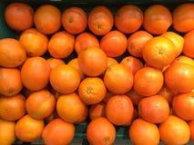 橙色商店市场 库存图片