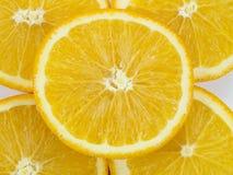 橙色圈子 免版税库存照片