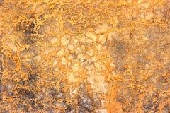 橙色墙壁纹理 免版税库存图片