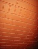 橙色墙壁 库存图片