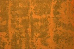 橙色墙壁 免版税图库摄影