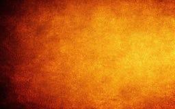 橙色墙纸 库存图片