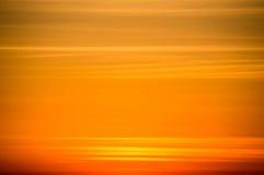 橙色天空日落 库存照片