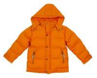 橙色夹克 免版税库存照片