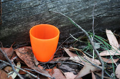 橙色对比 图库摄影
