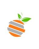 橙色小组业务保险摘要 免版税库存图片