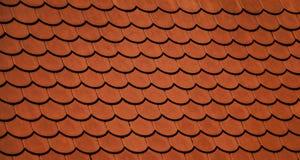 橙色屋顶 免版税库存图片