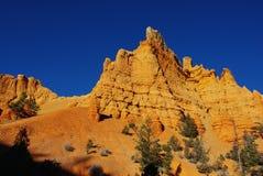 橙色岩石,犹他 库存照片