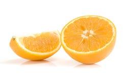 橙色成熟片式 库存图片