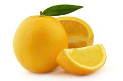 橙色成熟甜点 免版税库存图片