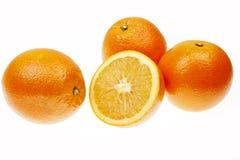 橙色成熟 库存照片