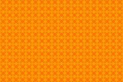 橙色抽象背景和正方形 免版税库存照片