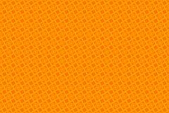 橙色抽象背景和正方形 免版税库存图片