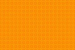 橙色抽象背景和正方形 库存照片
