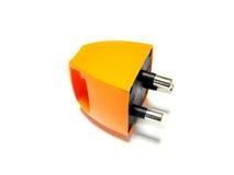 橙色插件 库存图片