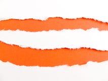 橙色数据条 免版税库存照片