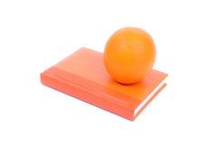 橙色日志 免版税图库摄影
