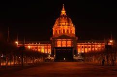 橙色旧金山香港大会堂 免版税图库摄影