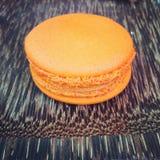 橙色曲奇饼 免版税库存图片