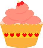 橙色杯形蛋糕 免版税库存照片