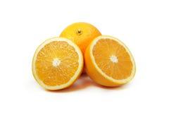 橙色果子切片 免版税库存图片