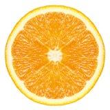 橙色果子片式 库存图片